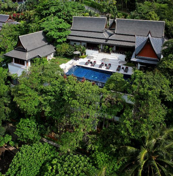 Nestled in a Tropical Canopy - Surin Beach Luxury Seaview Thai Lana Jungle Villa - Bang Tao Beach - rentals