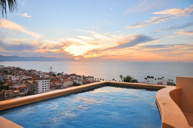 Rooftop Pool - Private Villa - Spectacular Views - Puerto Vallarta - rentals