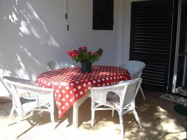 A1(2+2): terrace - 3669  A1(2+2) - Promajna - Promajna - rentals