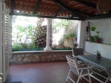 SA3(3): terrace - 3669  SA3(3) - Promajna - Promajna - rentals