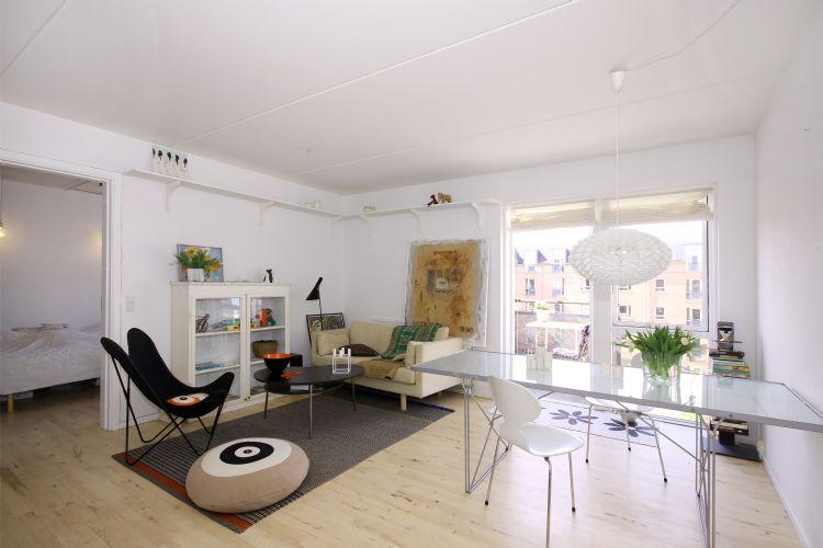 Marskensgade Apartment - Large and quiet Copenhagen apartment with balcony - Copenhagen - rentals