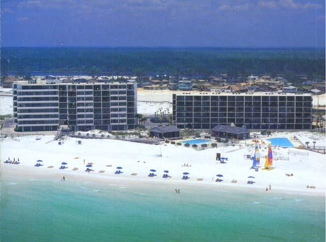 Beach Side 7205 Thomas Drive  The Dunes of Panama  A and B Buildings - Pet Friendly 2 Bedroom with Great Beachfront View - Panama City Beach - rentals