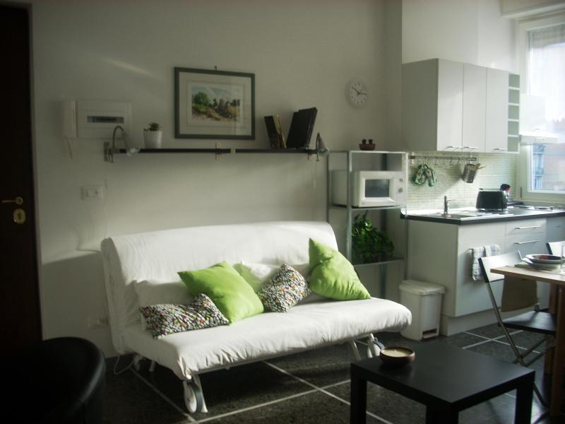 The Livingroom with sofa-bed - Nice Suite Rome in central area, close to Trastevere - Rome - rentals