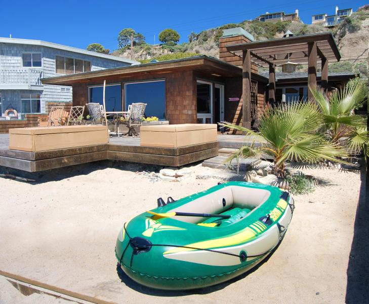 """""""The Beach House"""" Right on the Sand! 601 - Image 1 - Capistrano Beach - rentals"""