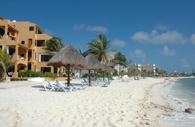 From the beach - Beaching it in Akumal, MX - Akumal - rentals