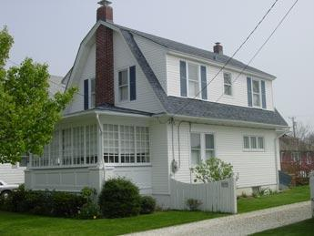 Exterior (from driveway) - 4 bedroom, centrally located, Cape May Beach House - Cape May - rentals