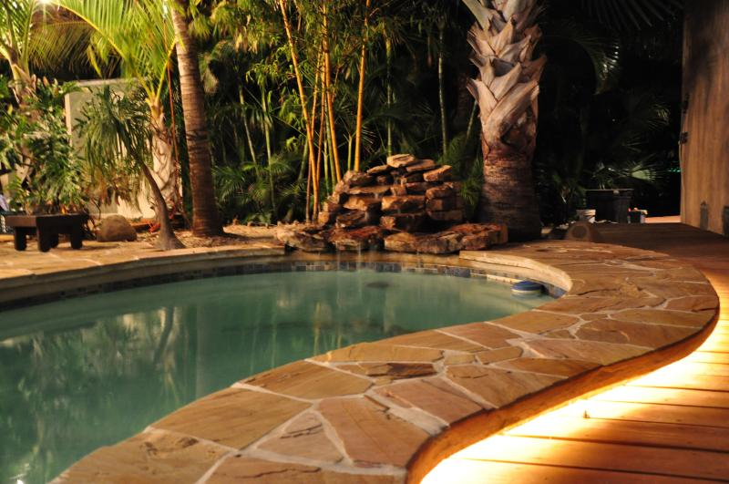Pool with undermount lighting - The Beach House - Sugarloaf Key - rentals