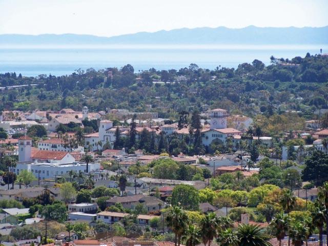 View From House - Panoramic Ocean, Island, and City Views-SB Riviera - Santa Barbara - rentals