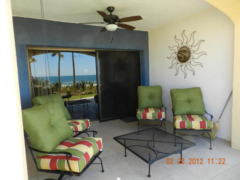 Patio - Ground Fl Ocean Front with Spectacular Views - Puerto Penasco - rentals