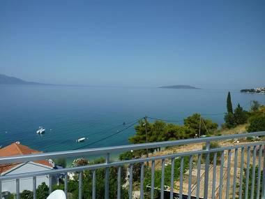 A1(2+2): terrace view - 3775 A1(2+2) - Brist - Brist - rentals
