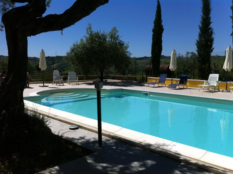 12m Swimming Pool for Guests - Casa Christiana B&B in the hills of Abruzzo - Picciano - rentals
