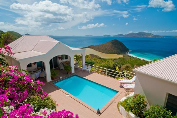 The Captain's House - Secluded Caribbean Villa with Spectacular Views - Tortola - rentals