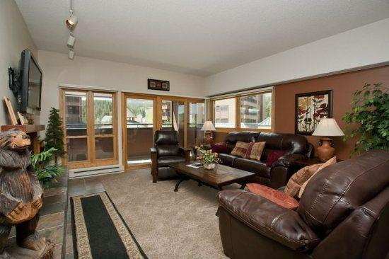 Living Room - Village at Breckenridge 3BD,  20% off thru 6/29 - Breckenridge - rentals