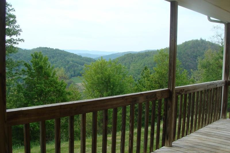 Your view off your deck on a hazy day. - Lake, River, pet, private/Click booktab 4 rates MV - Butler - rentals