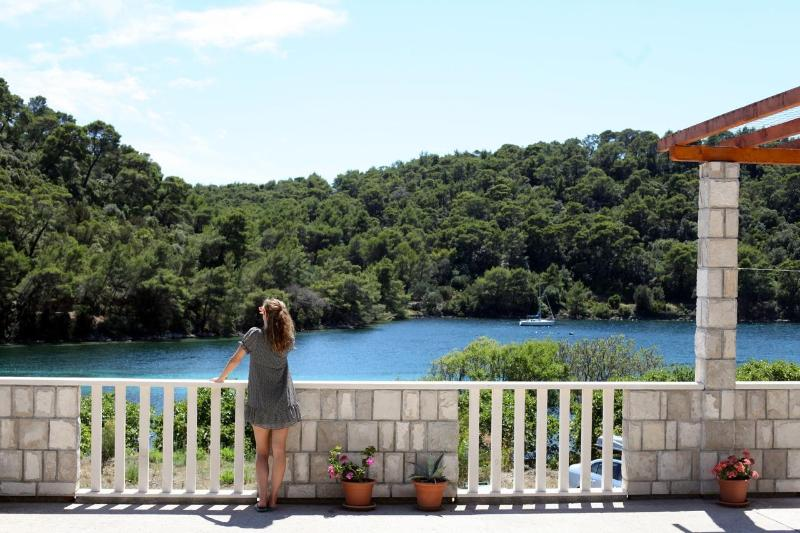 Terrace - Mljet National Park Accommodations - Soline  (2+1) - Mljet - rentals
