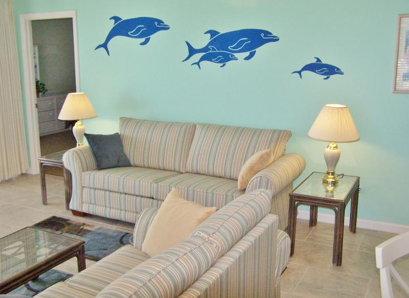 Beach Front 2nd Floor Corner Unit at the Dancing Dolphin - Image 1 - Panama City Beach - rentals