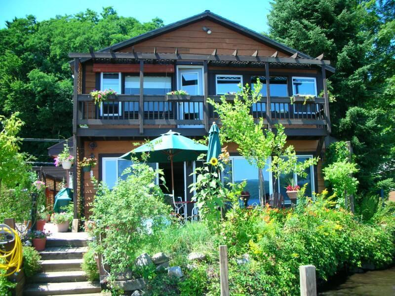 Directly on Northern Lake George! - Island View Vacation Home directly on Lake George - Hague - rentals