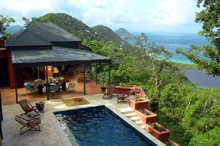 Towanda - Beautiful villa offers stunning views, pool & fun in the sun - Image 1 - Belmont - rentals