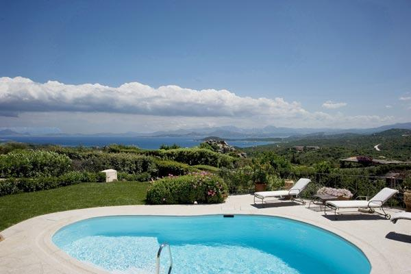 This lux villa stands on a promontory, dominating the Bay of the Cala di Volpe and the Gulf of Pevero. HII ALI - Image 1 - Sardinia - rentals