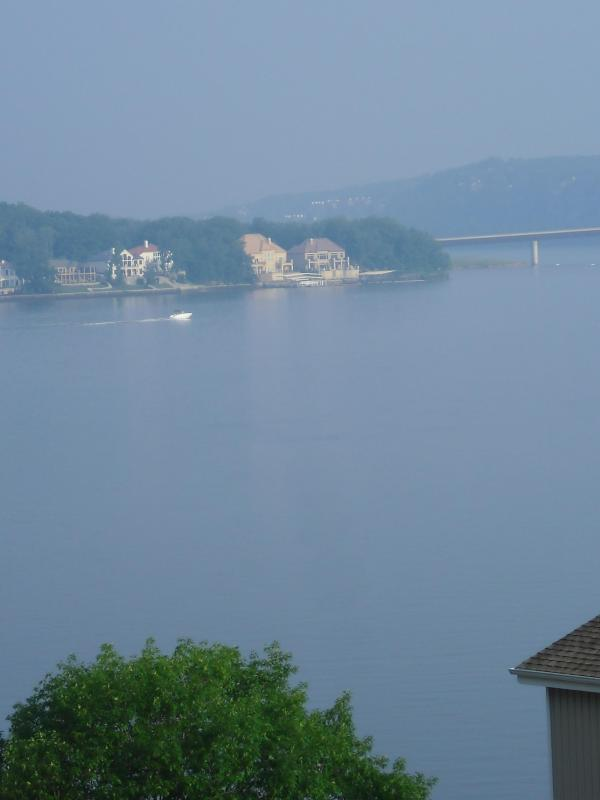 Beautiful view from the Deck - Osage Beach/ Indian Pt Condo Check - availability! - Lake Ozark - rentals