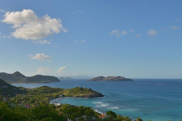 Located in Petite Saline with a magnificent view of the Bay WV VIL - Image 1 - Saint Barthelemy - rentals