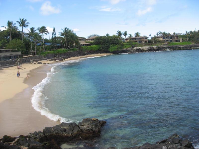 Secluded white sandy beach at Kahana Sunset - Kahana Sunset 2 BR Condo, Ocean View, Great Beach - Lahaina - rentals
