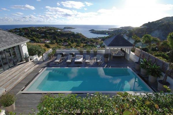 Lovely Swedish design villa with splendid view over Marigot Bay WV KAM - Image 1 - Marigot - rentals