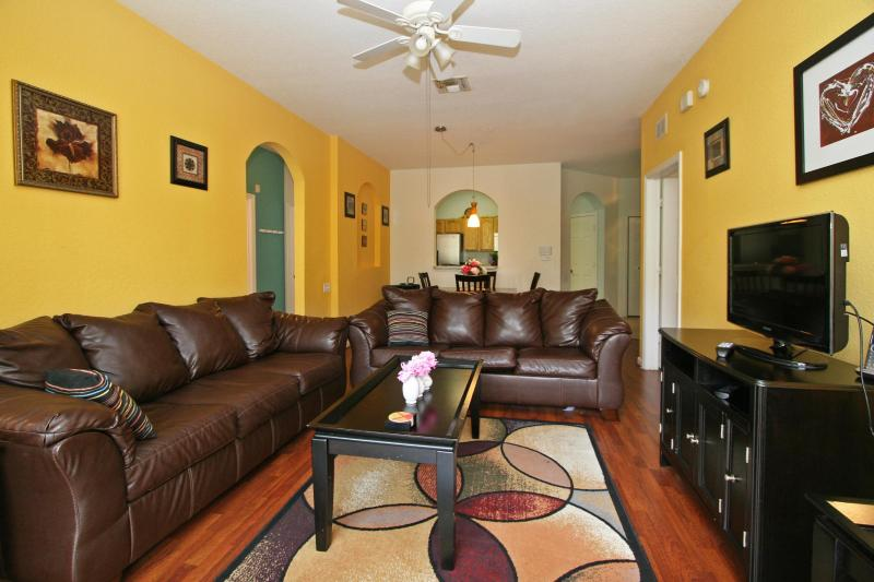 Living Room - Luxury Condo in Orlando near Disney- Windsor Hills - Kissimmee - rentals