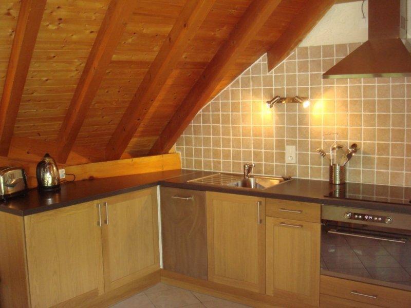 Kitchen - Chalet Leslie - Apartment 3 - Morzine-Avoriaz - rentals