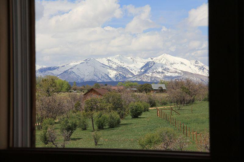 View out master bedroom window - Exquisite Loft on a Working Horse Ranch - Durango - rentals