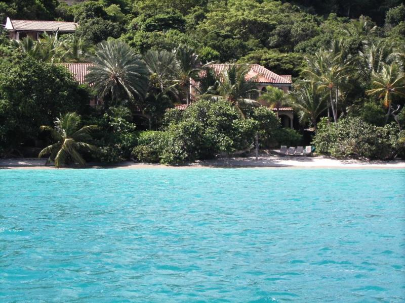 Luxury villa on private beach... - Peter Bay Beach House. Paradise on a Private Beach - Virgin Islands National Park - rentals