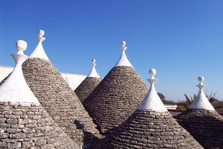 trulli roof - Charming Trulli in evergreen panorama Valle Itria - Martina Franca - rentals
