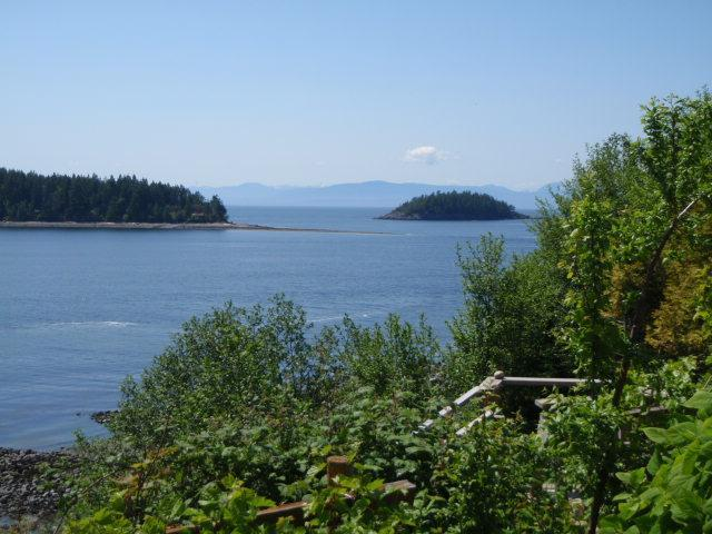 View of 2 of the Trail Bay Islands from the front of the property - STARFISH STUDIO - Sechelt - rentals