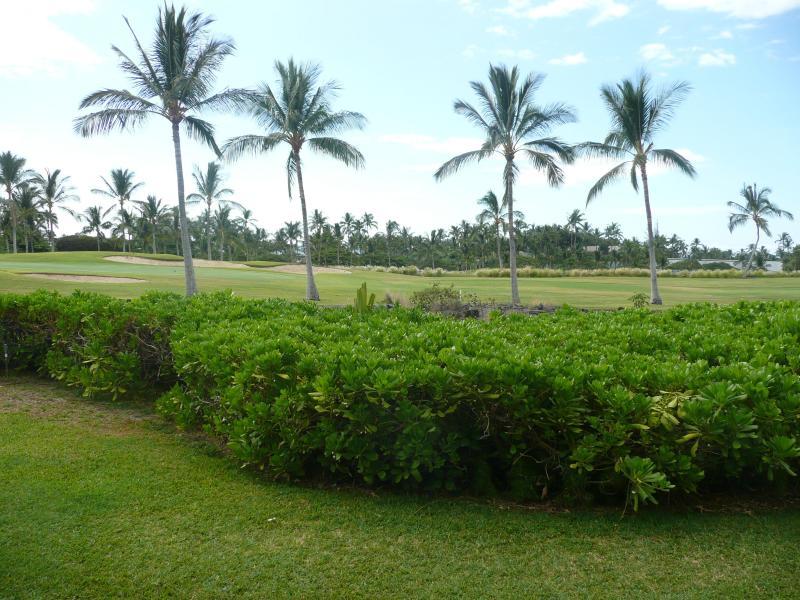 13th Green of the Beach Course from the Lanai - Beach Course Golf Villa - Waikoloa - rentals