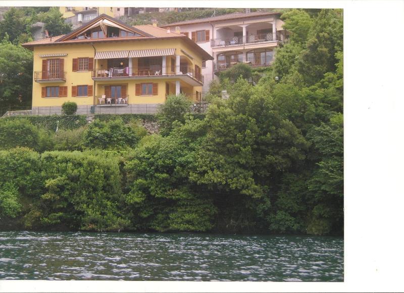 LAKE COMO PRIVATE LAKEFRONT PROPERTY VILLA - Lake Como villa pietro de santa fe - Nesso - rentals