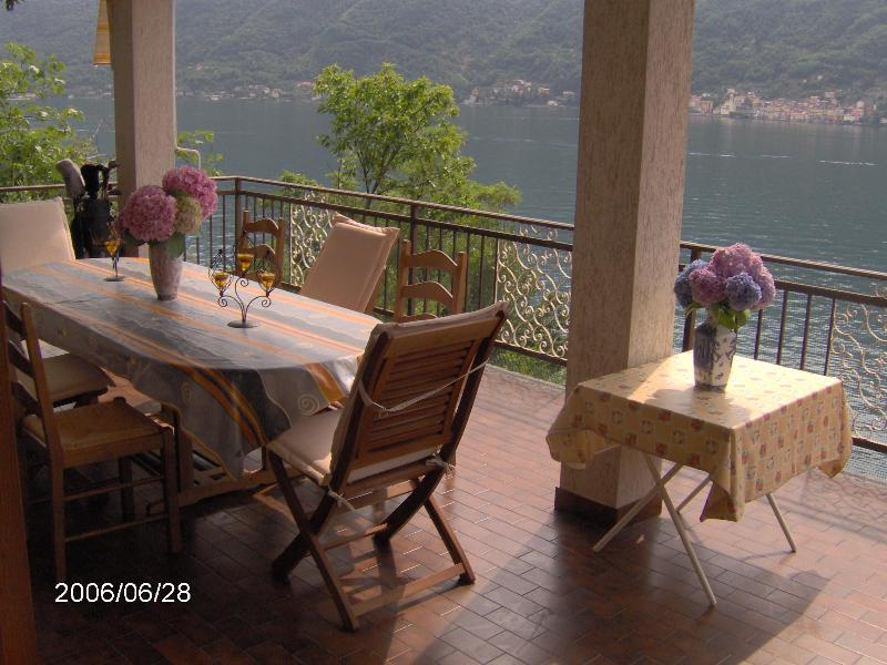 Lakefront Villa sleeps 10 with  5 bedrooms 3.5 baths free WIFI private parking and Dock 3 Balconys - Lake ComoVilla Private,Lakefront,Dock,Parking!!! - Nesso - rentals
