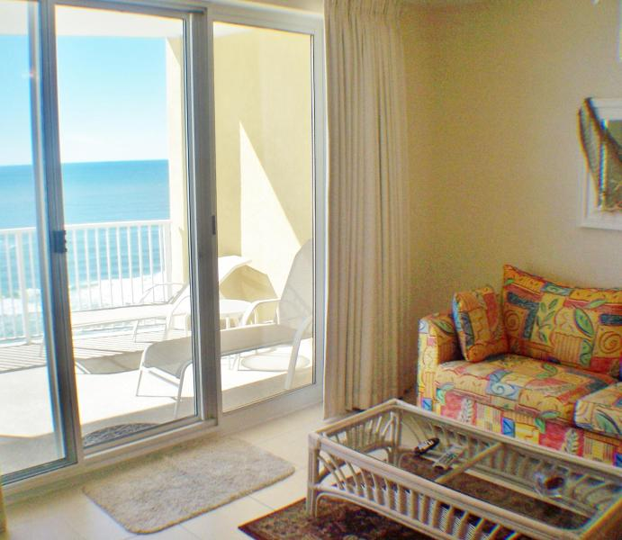 Amazing views,x lg balcony,tile,tropical,fun, 2/2 - Image 1 - Panama City Beach - rentals