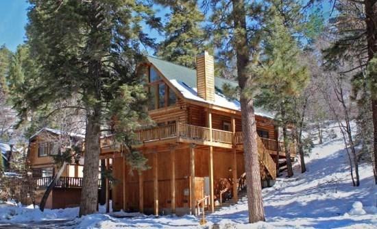 Euro Bear - Front of the cabin - A European style vacation cabin in Big Bear near Bear Mountain Ski Resort and the Golf Course. - Big Bear Lake - rentals