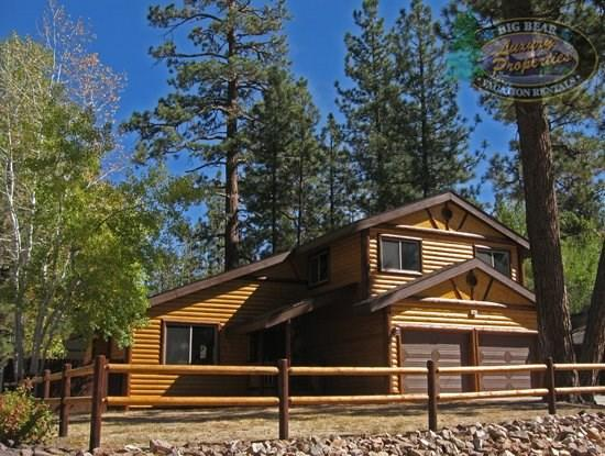 Peaceful Retreat - front of the cabin - Peaceful Retreat Cabin a beautiful, peaceful, tranquil yet centrally located Vacation Cabin in Big Bear. - Big Bear Lake - rentals
