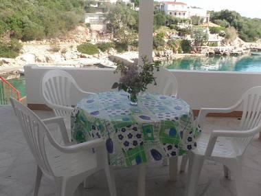 A2(2+1): terrace - 3099 A2(2+1) - Cove Zarace (Gdinj) - Pokrivenik - rentals