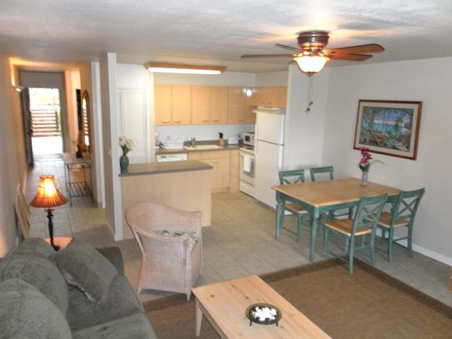 Living Room - Neat & Clean 1br Turtle Bay Condo from $109/nt! - Kahuku - rentals