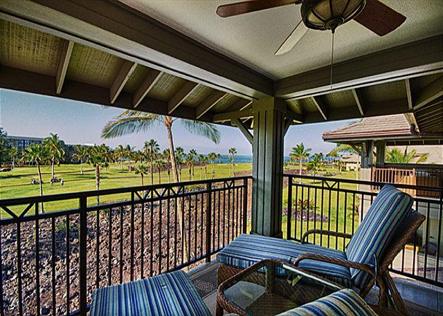Exquisite Three Bedroom, Three Bath Oceanview Halii Kai (Resort Fees Incl.) - Image 1 - Waikoloa - rentals