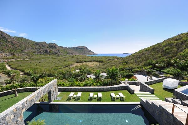 Exquisitely refined luxury villa with over 2.5 acres of unspoiled land	 WV DUN - Image 1 - Saint Barthelemy - rentals