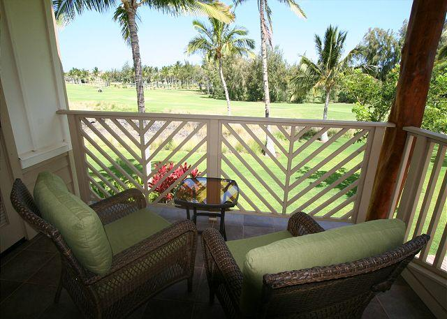 View from Master Bedroom - 3BR TOWN HOME WITH GOLF VIEWS & BBQ! - Waikoloa - rentals