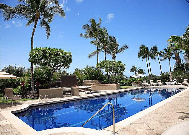 SAILINE LAP POOL - BEAUTIFUL GROUND FLOOR CONDO! LAVA FLOW SPECIAL AUG-OCT 7TH NIGHT COMP - Waikoloa - rentals