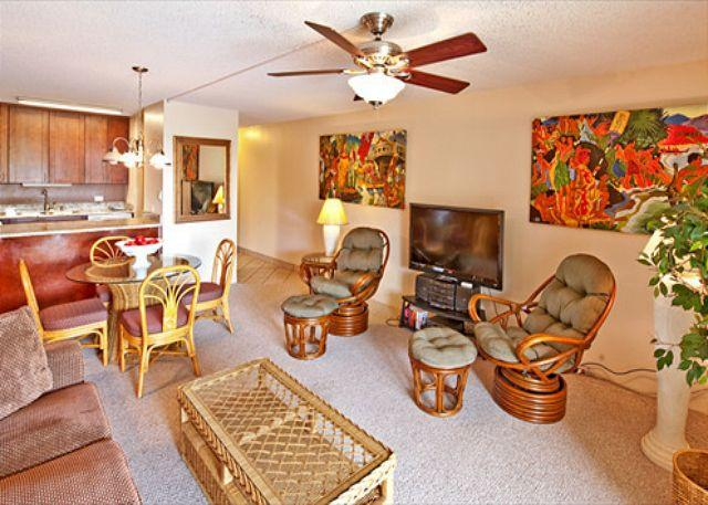 Beautifully Renovated Kamaole Sands 1-Bedroom Condo with Extended Lanai - Image 1 - Kihei - rentals