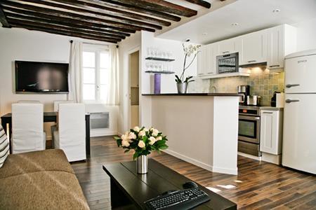 DUPLEX MARAIS 02 : 2 bedrooms 1 bathroom 6 guests - Image 1 - Paris - rentals