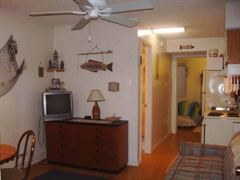 wood floors and area rugs - Awesome Condo 1 Bedroom - Wildwood - rentals