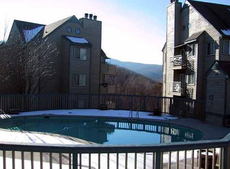 Outdooor Pool - Love Nest - Gatlinburg - rentals