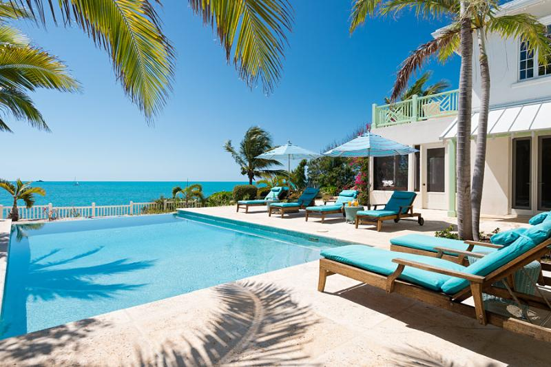 Welcome to Villa Turquesa! - Luxury Overlooking Sapodilla Bay, Steps to Beach! - Providenciales - rentals